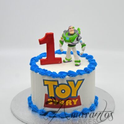 Small Toy Story Cake - Amarantos Cakes