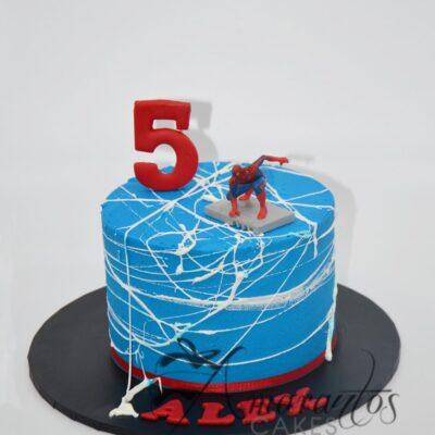 SMALL SPIDERMAN CAKE MELBOURNE