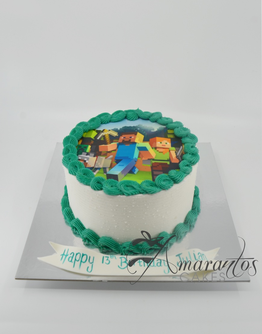 Edible Image Cakes - Amarantos Cakes