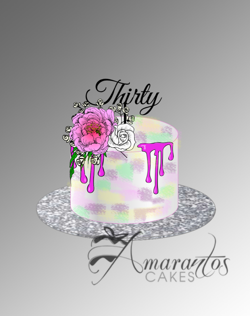 Design my own cake - Amarantos Cakes