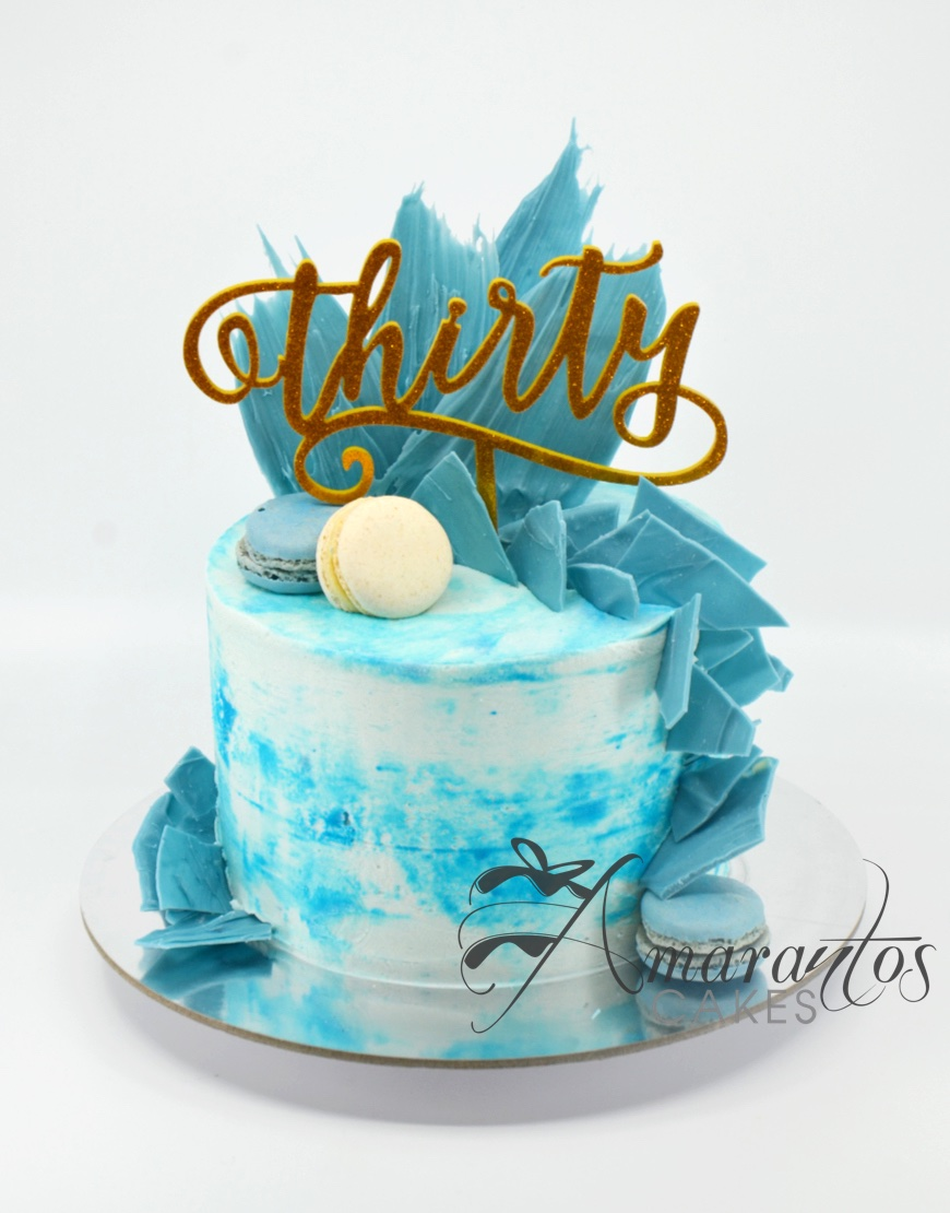 Chocolate Shard Small Celebration Cake