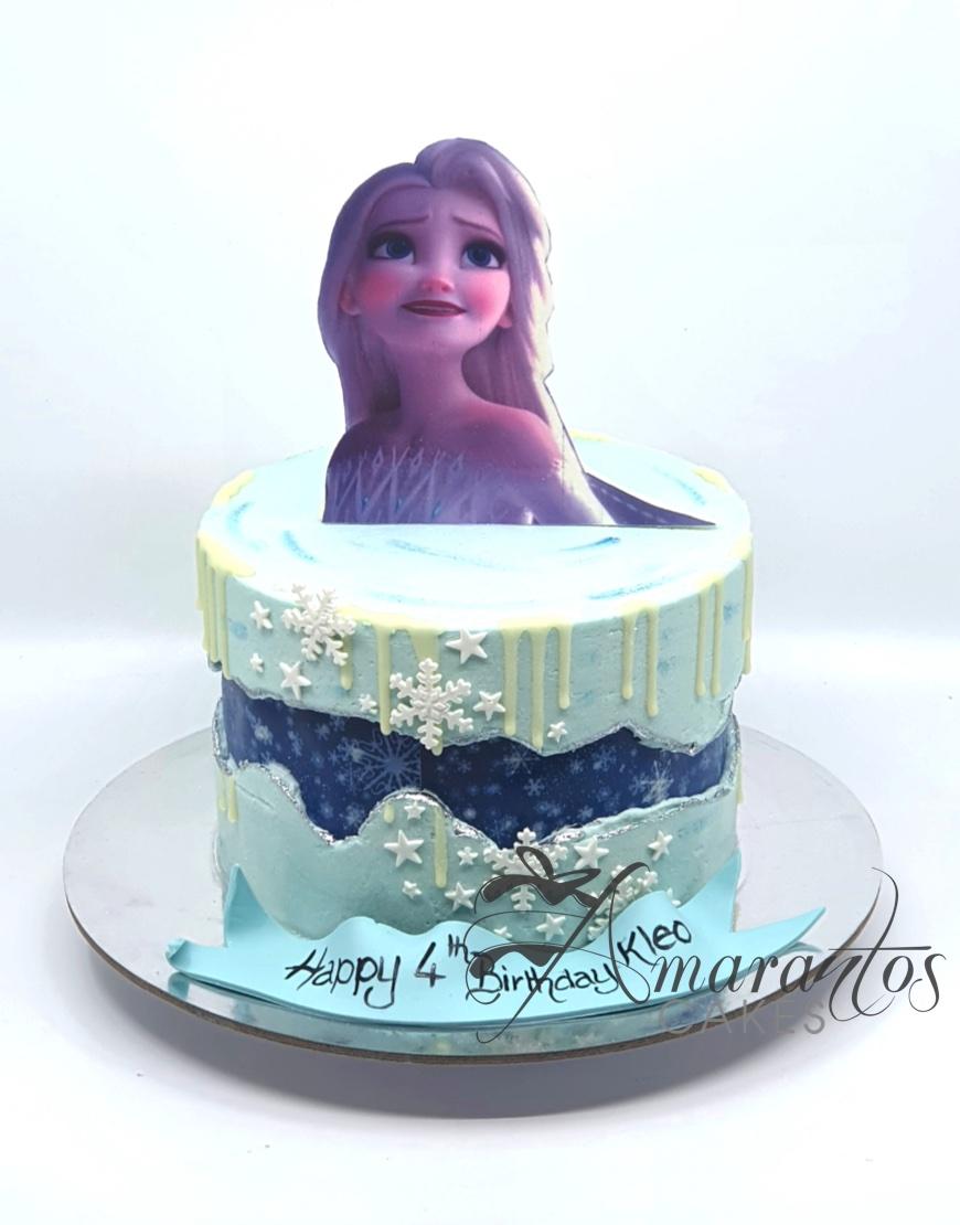 Small Elsa Cake - AA22 - Amarantos Cakes