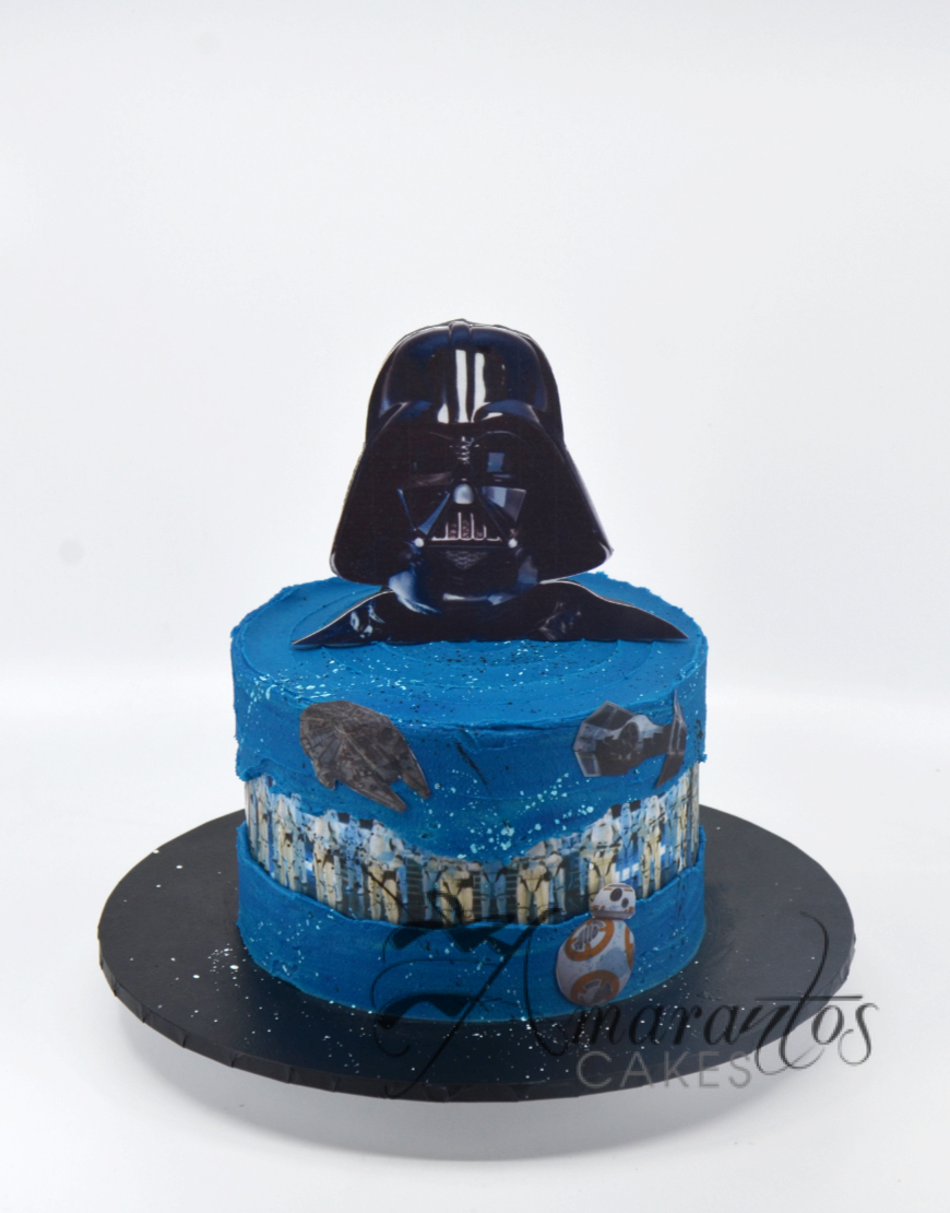 Small Star Wars Cake - AA23