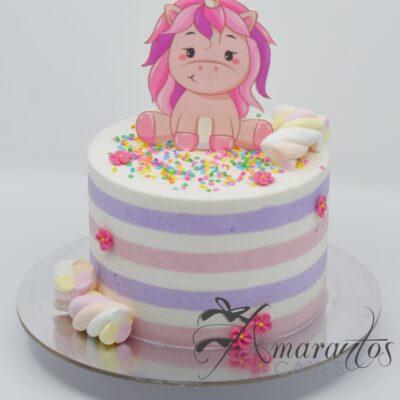Small Unicorn Cake - AA26