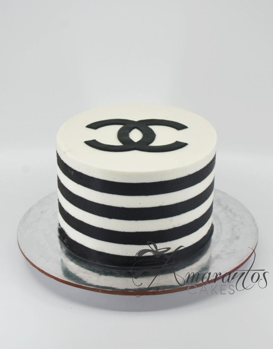 Chanel Logo Cake - AA28