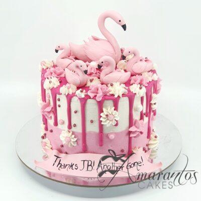 Pink Flamingo Cake - AA29