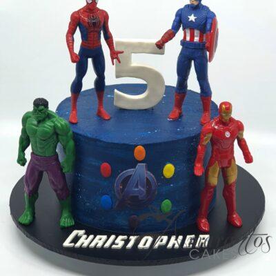 Small Avengers Cake - AA30