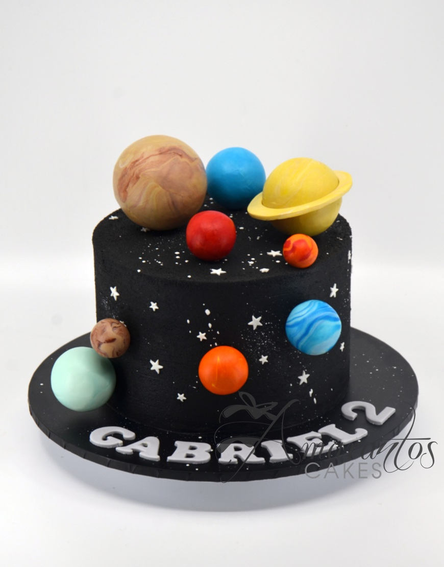 Solar Planets Cake - AA32