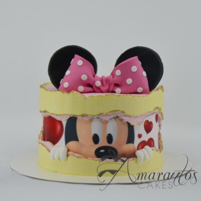 Small Minnie Mouse Cake - AA35 - Amarantos Cakes