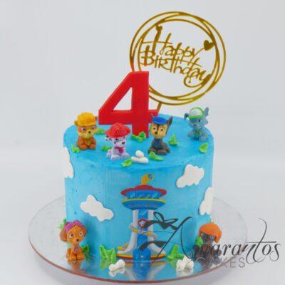 Best Paw Patrol Cake - AA36 - Amarantos Cakes