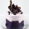 Elegant Birthday Cake - AA38 - Amarantos Cakes