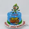 Small Top Wing Cake - Amarantos Cakes - AA45