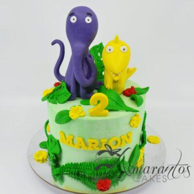 Kiri and Lou Cake - Amarantos Cakes - AA46