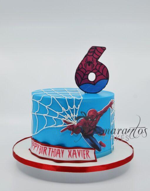 Spiderman Marvels Cake - Amarantos Cakes - AA53