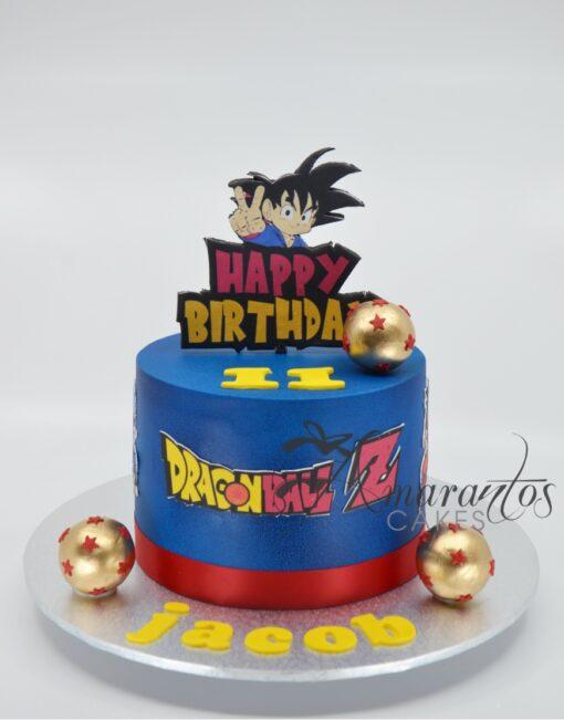 Small Dragon Ball Z cake - Amarantos Cakes - AA55