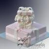 AC05 2 tier present WM Amarantos Cakes