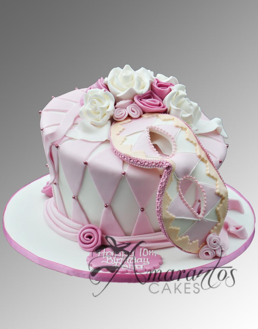 AC103 masquerade WM Amarantos Cakes