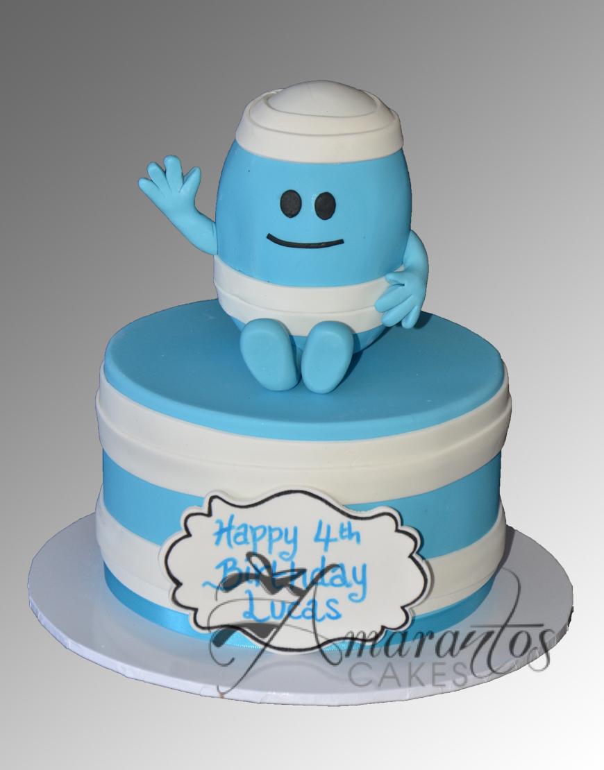 Mr Bump Cake - Amarantos Cakes