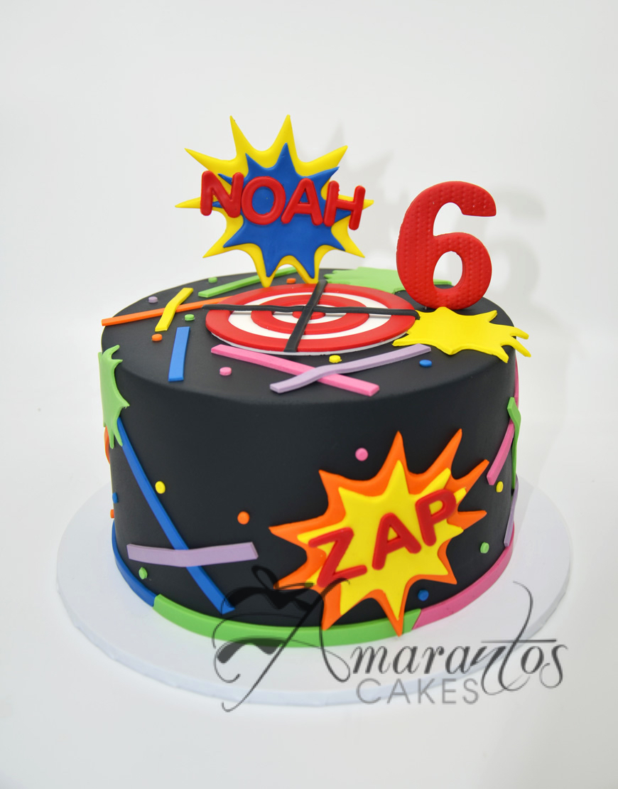 AC114 laser tag WM 1 Amarantos Cakes