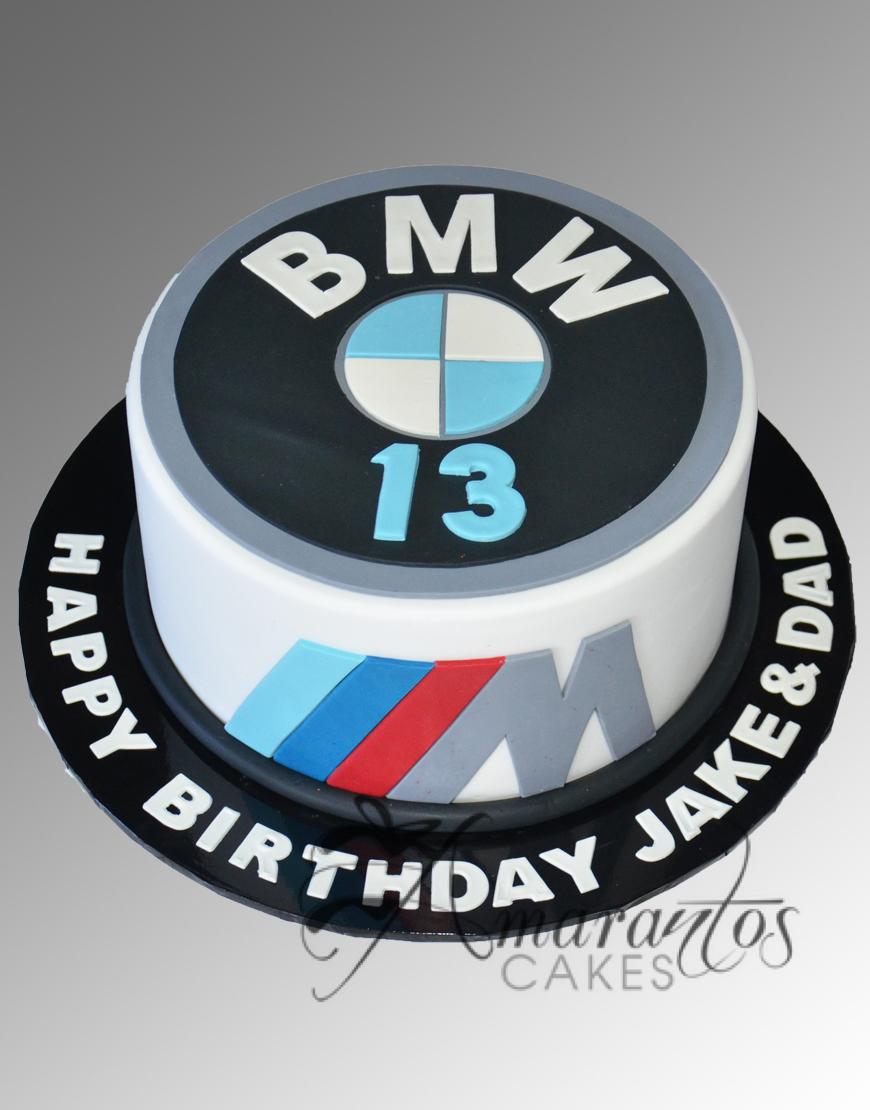 AC117 bmw logo WM Amarantos Cakes