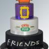 Friends 3 tier Cake - AC124 -Amarantos Cakes