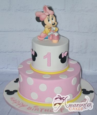 Two tier Minnie Cake – AC132