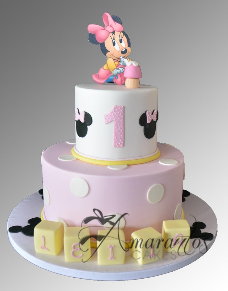 AC132 minnie WM Amarantos Cakes