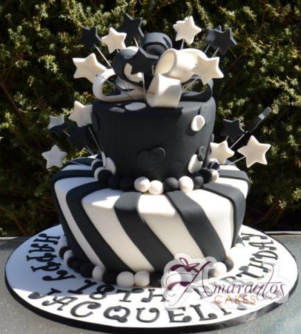 Two tier Mad Hatter - Amarantos Designer Cakes Melbourne