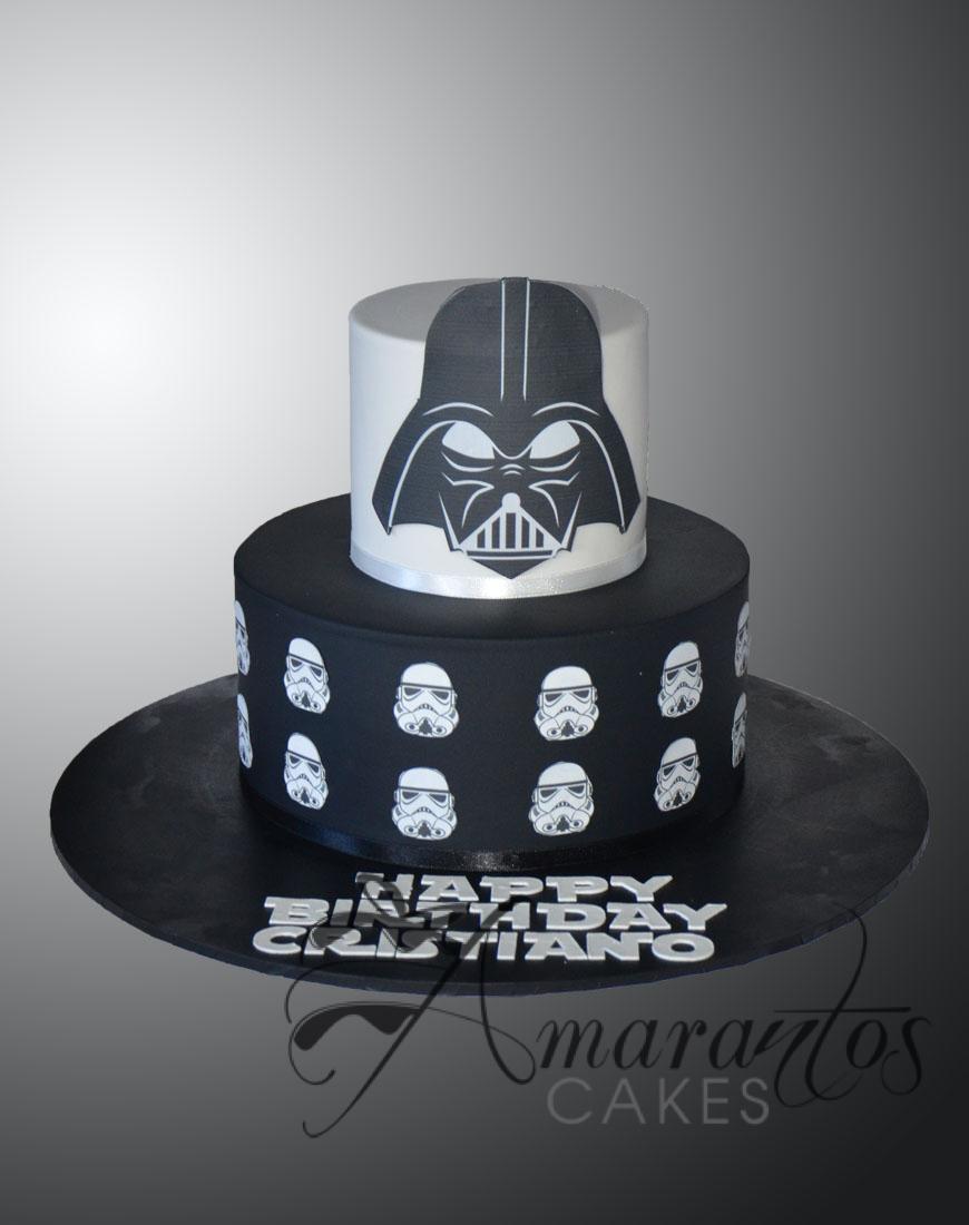 AC136 Two tier Star Wars cake
