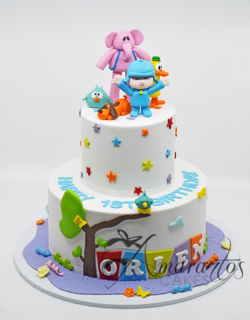 Pocoyo Cake by Amarantos Cakes Melbourne