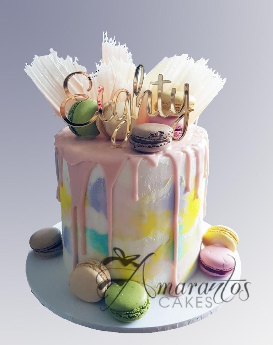 AC154 buttercream with choc shards WM Amarantos Cakes