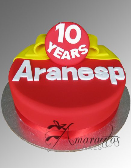 Corporate Logo Cake AC157
