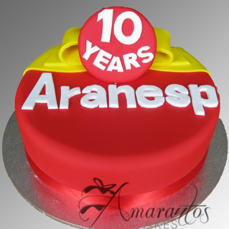 Corporate logo cake – AC157