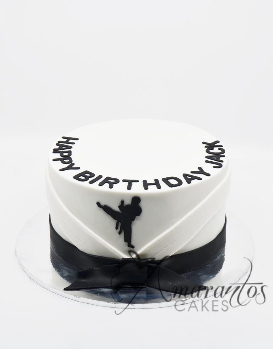 Jiu Jitsu Cake AC158 Amarantos Cakes