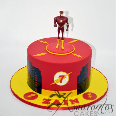 AC166 The Flash cake Amarantos Cakes