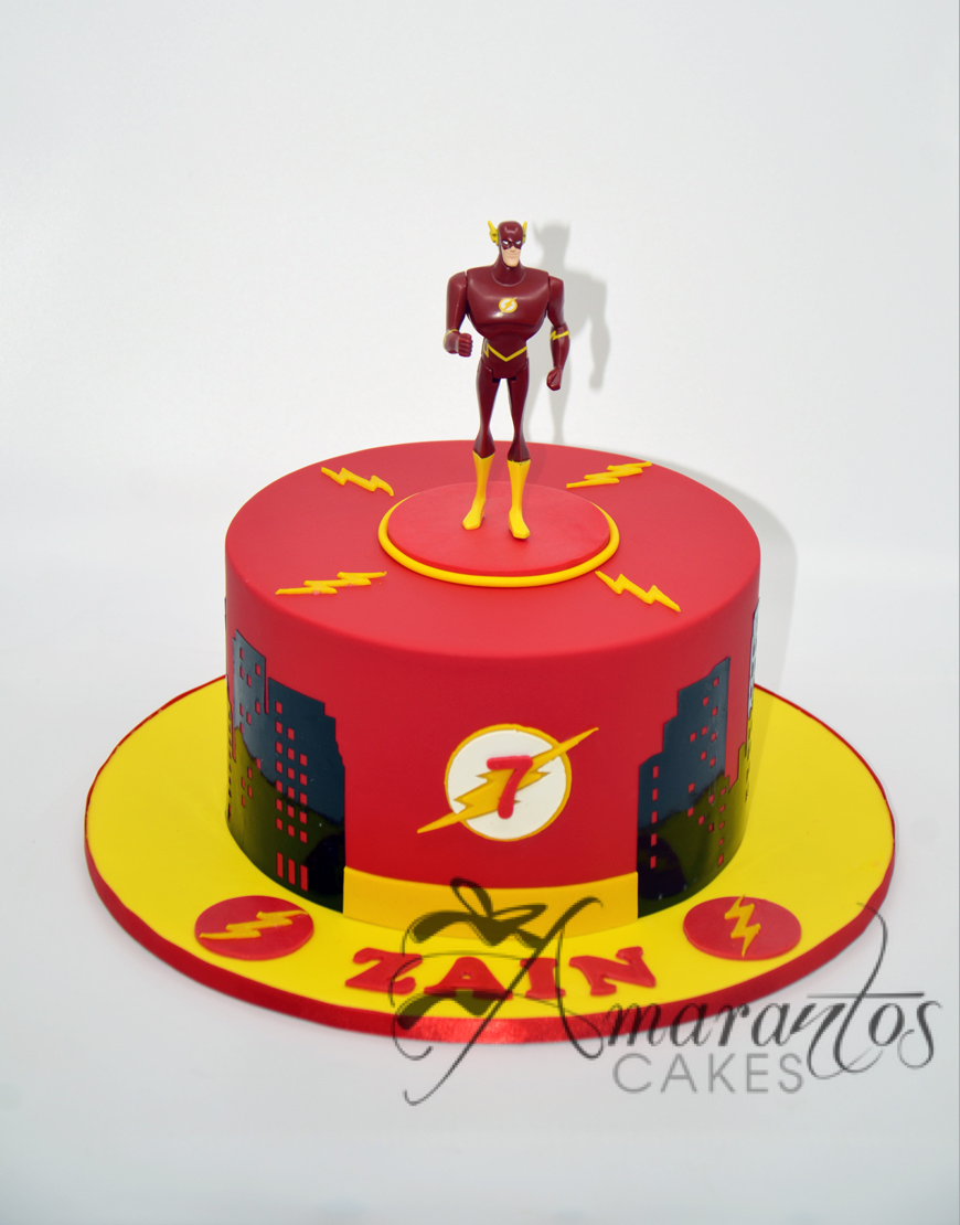 AC166 The Flash cake Amarantos Cakes