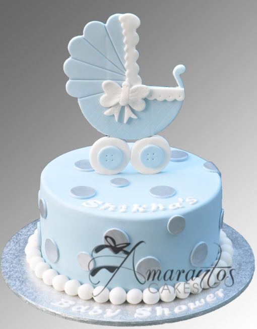 AC174 baby pram WM 1 Amarantos Cakes