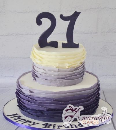 Two tier design cake – AC175