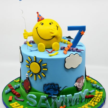 Two tier Mr Men Cake- AC176