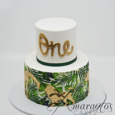 Two tier Jungle Cake – AC177