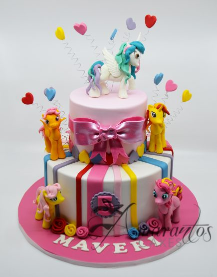 AC182 My little pony cake