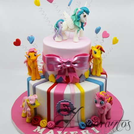 Two tier My Little Pony Cake – AC182