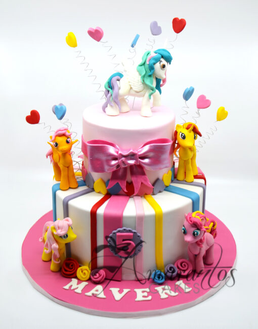 AC182 my little pony WM 1 Amarantos Cakes