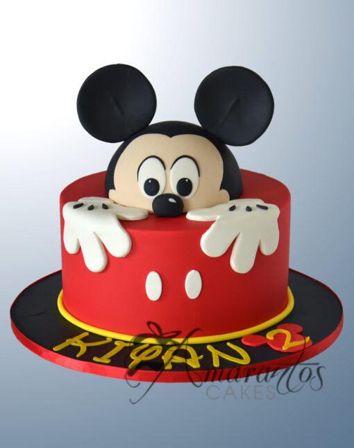 AC183 mickey WM 1 Amarantos Cakes