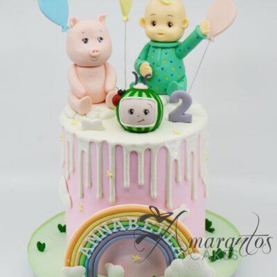 Cocomelon Cake AC19 - Amarantos Cakes Melbourne