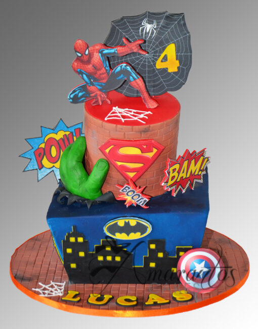 AC197 superhero marvel WM 1 Amarantos Cakes