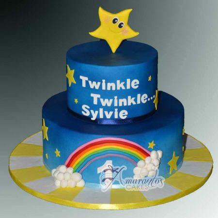 Two tier twinkle twinkle theme- AC206