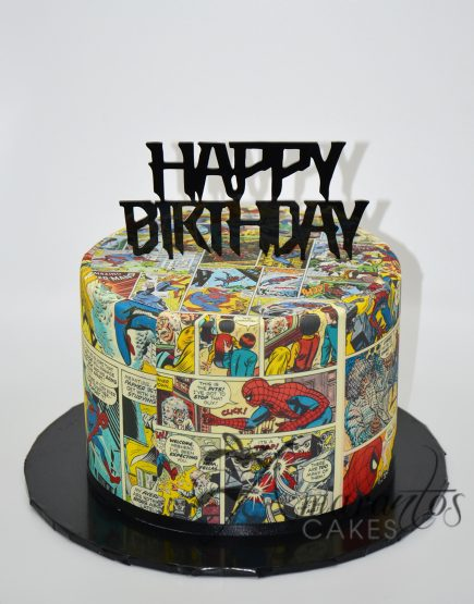 AC209 Spiderman Cake