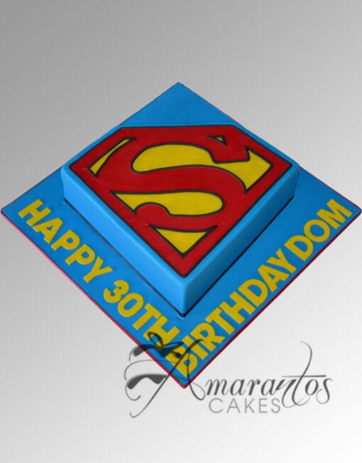 AC216 superman WM 1 Amarantos Cakes