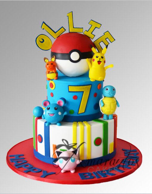 AC220 pokemon pikachu WM 1 Amarantos Cakes